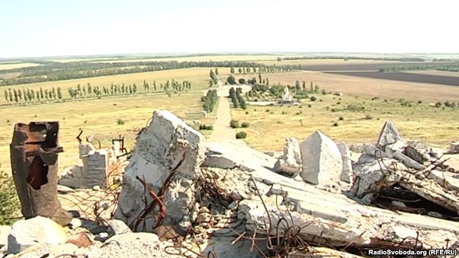 З висоти Савур-Могили – кордон з Росією як на долоні