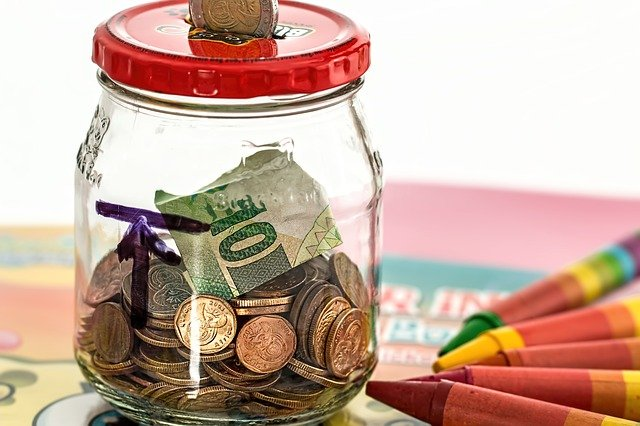 Aged pension income test - money in a jar