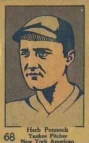 Herb Pennock (Hall of Fame) Baseball Cards