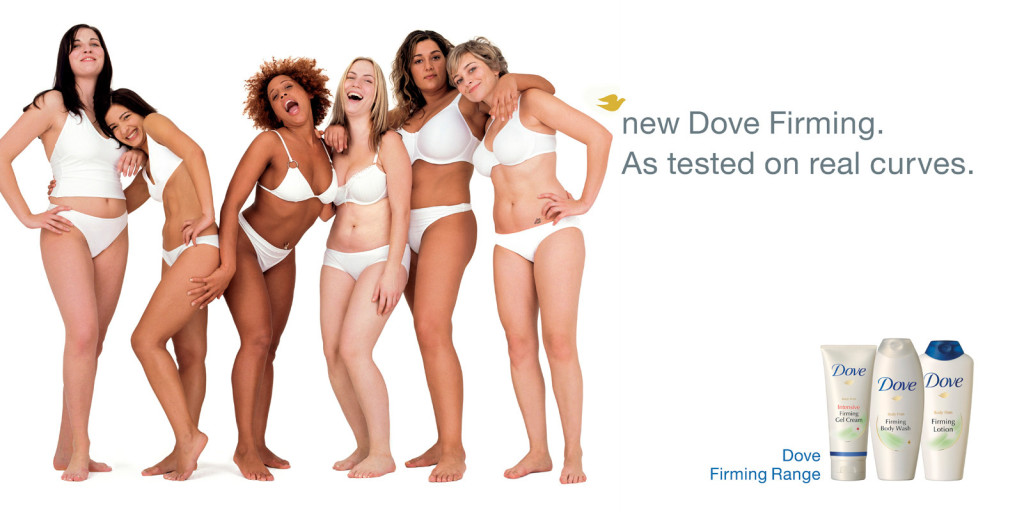 Dove's Real Beauty Campaign.