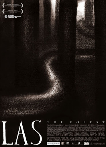 Polski plakat filmu 'Las'