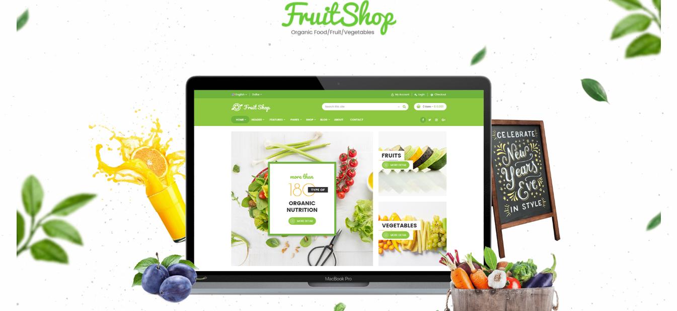 Fruit shop - Coffee shop shopify theme