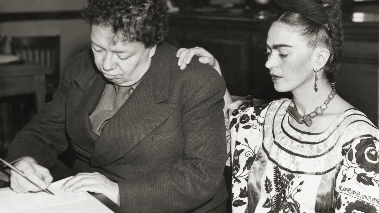 Diego Rivera y Frida Kahlo cartas eróticas