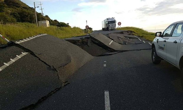 Image result for kaikoura earthquake pictures