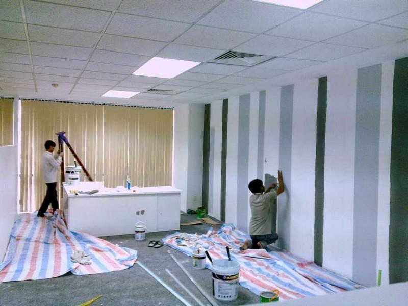 sơn sửa lại căn hộ chung cư giá rẻ tại quận 2