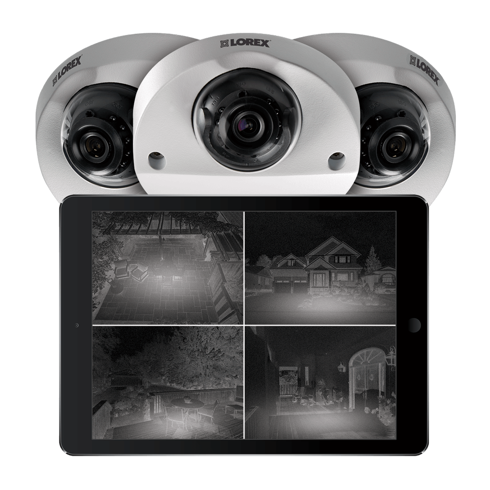 HD indoor camera with night vision