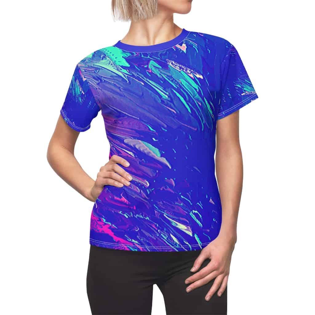 Shattered Ice Women's T-Shirt
