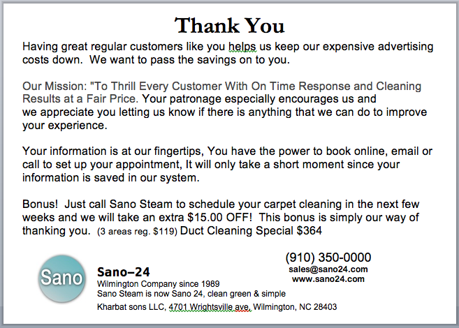 FREE Carpet Cleaners Marketing Manual - Carpet cleaning invoice free online store credit cards guaranteed approval