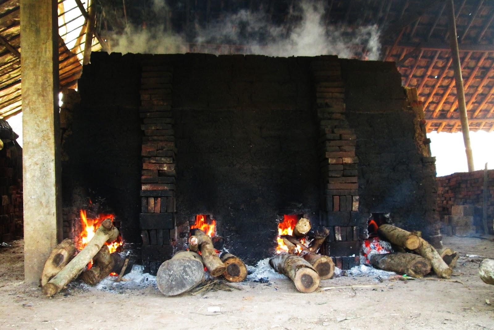 cara pembakaran batu bata merah