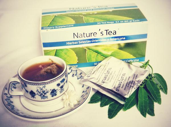 Nature's Tea - Trà thải độc ruột, vệ sinh hệ thống tiêu hóa.