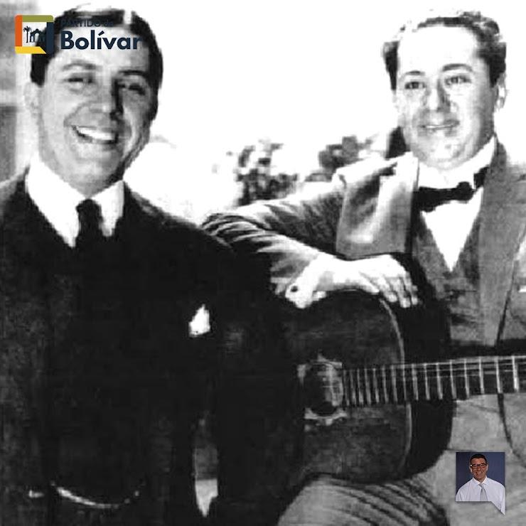 Carlos Gardel y José Razzano formaron  en 1911 un dúo que duró hasta 1925