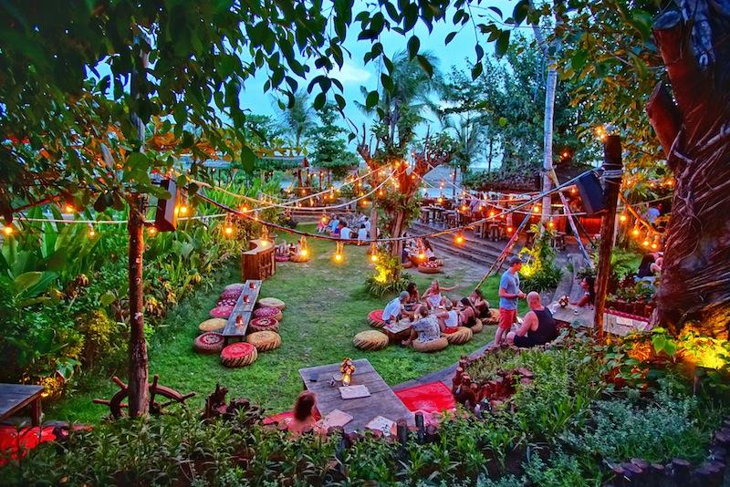 La Laguna cafe Canggu Bali