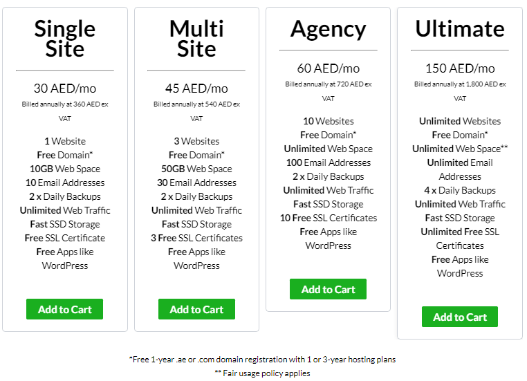 UAE's Best Web Hosting in Dubai