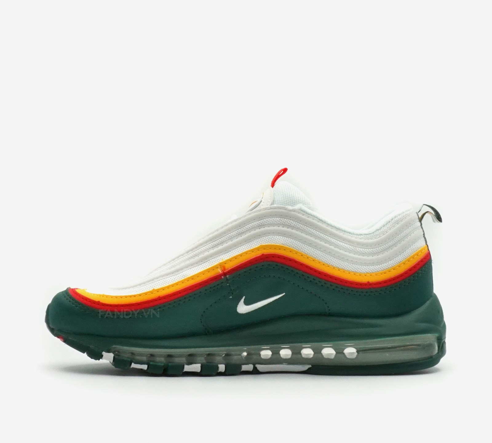 Giày Nike Air Max 97  White Evergreen