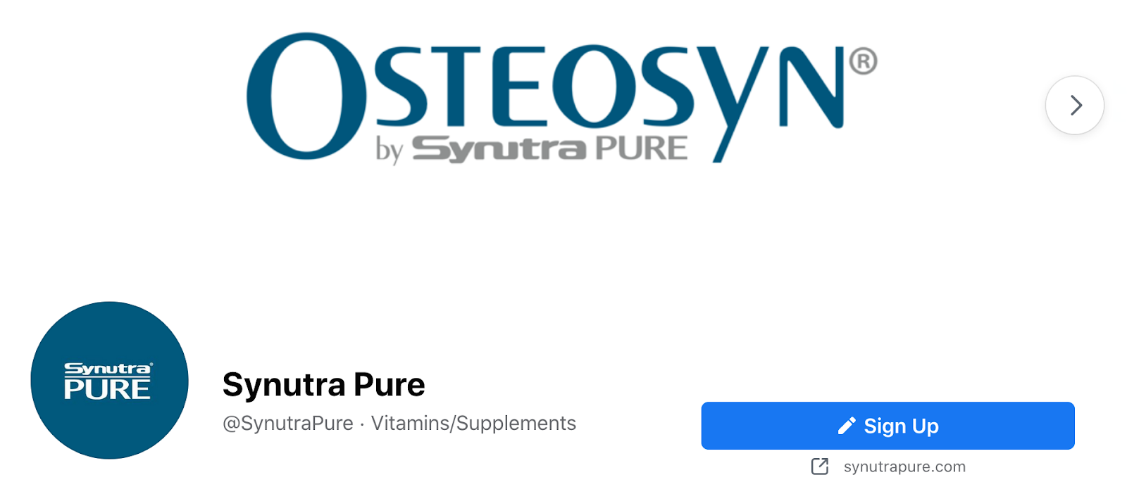 Osteosyn by Synutra Pure | Health Brands