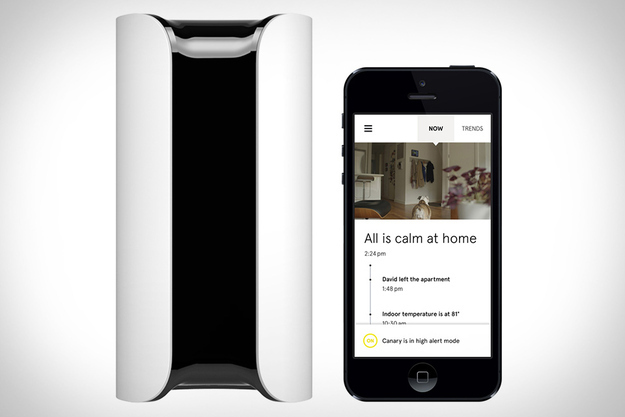 Get a motion-sensor home security system that lets you monitor your home with your smartphone.