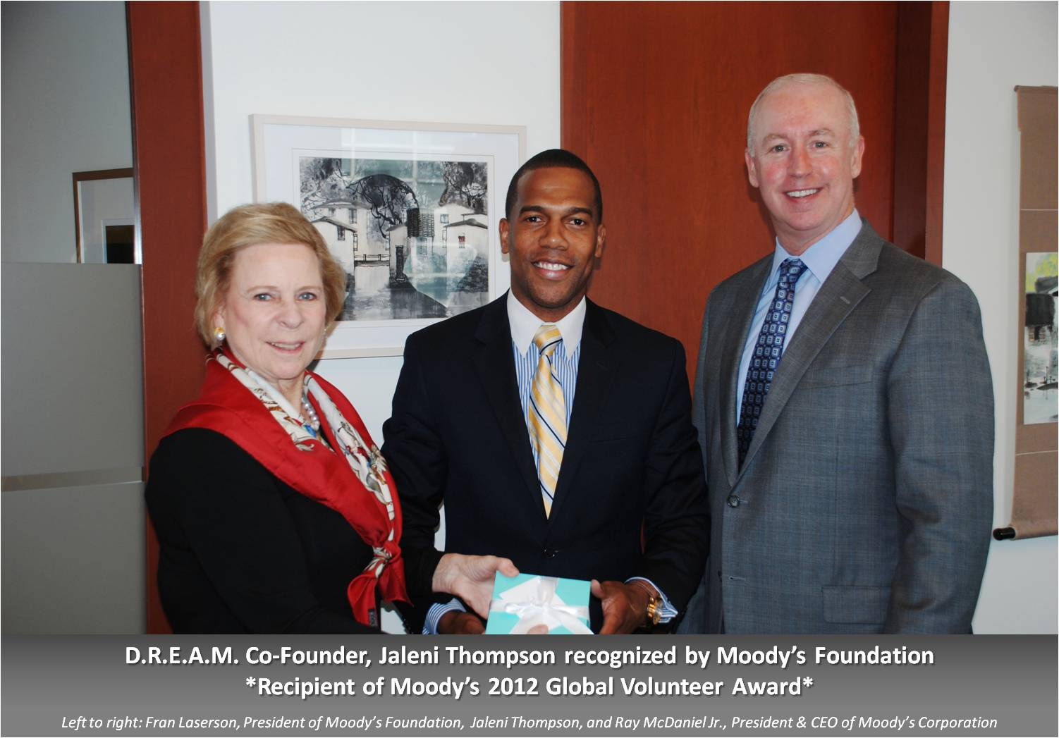 Moody's Foundation Recognizes Co-Founder