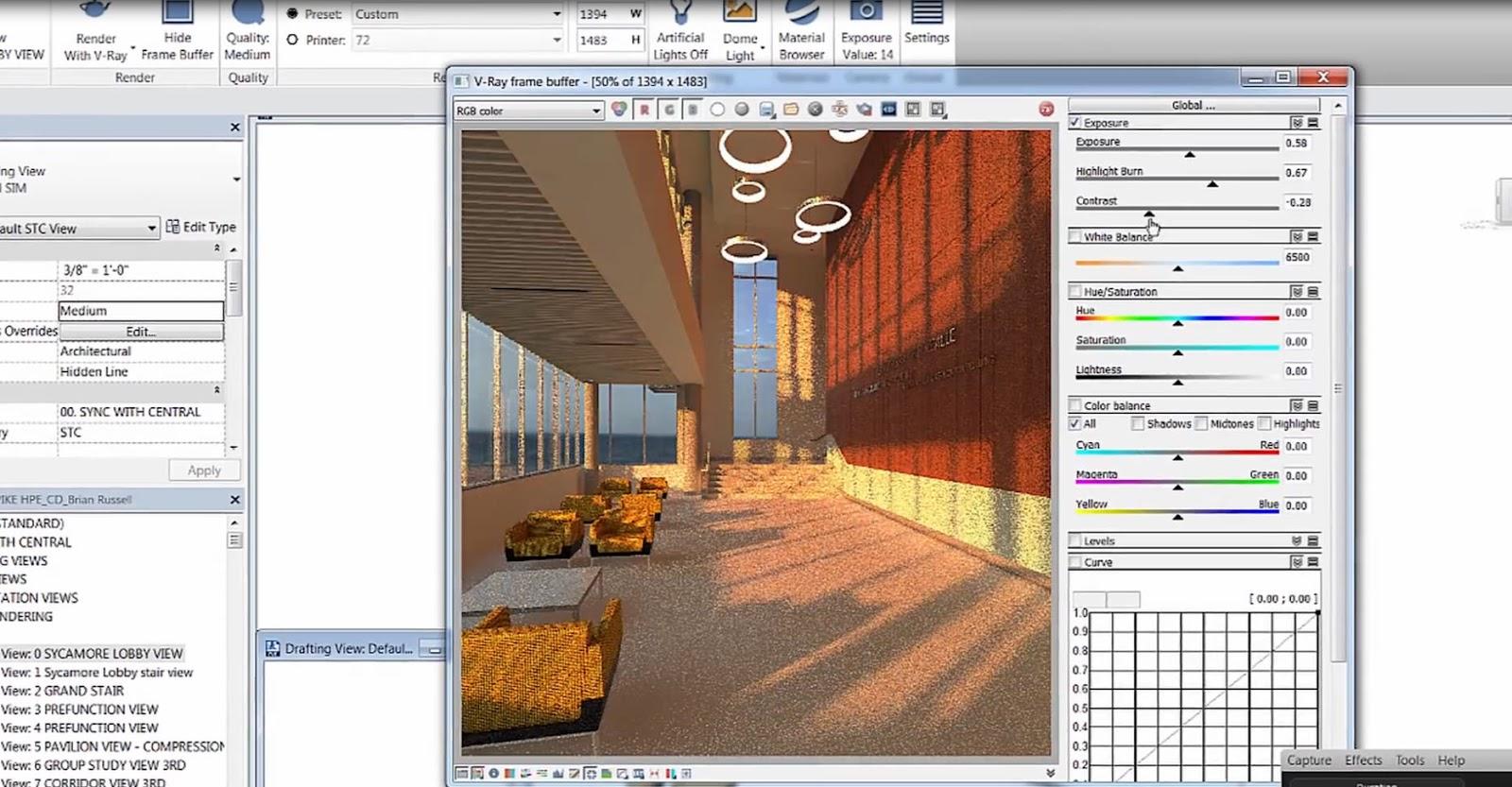 V-Ray public beta cho Revit - Tải và cài đặt V-Ray cho Revit