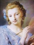Rosalba Carriera (Italian artist, 1675-1757) Self Portrait (2)