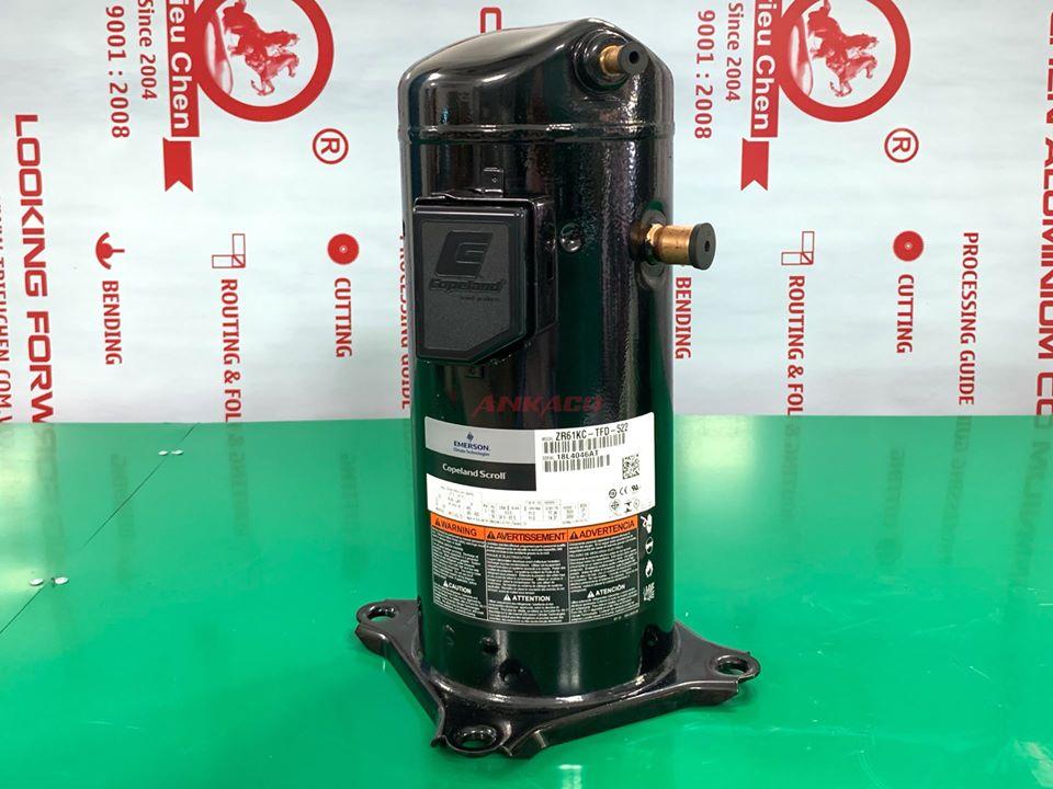 0947.459.479 Bán, lắp đặt block điều hòa Copeland 5 hp ZR61KC-TFD-422