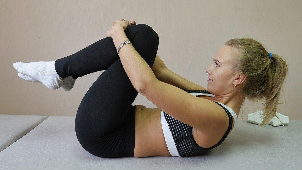Упражнение, Позвоночник, Спортсменка, Женщина, Йога