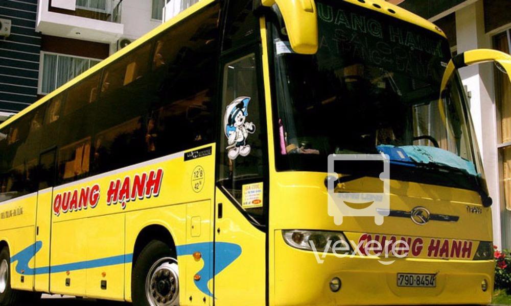Xe Quang Hạnh từ Sài Gòn đi Nha Trang