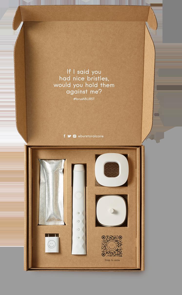 sonic toothbrush box