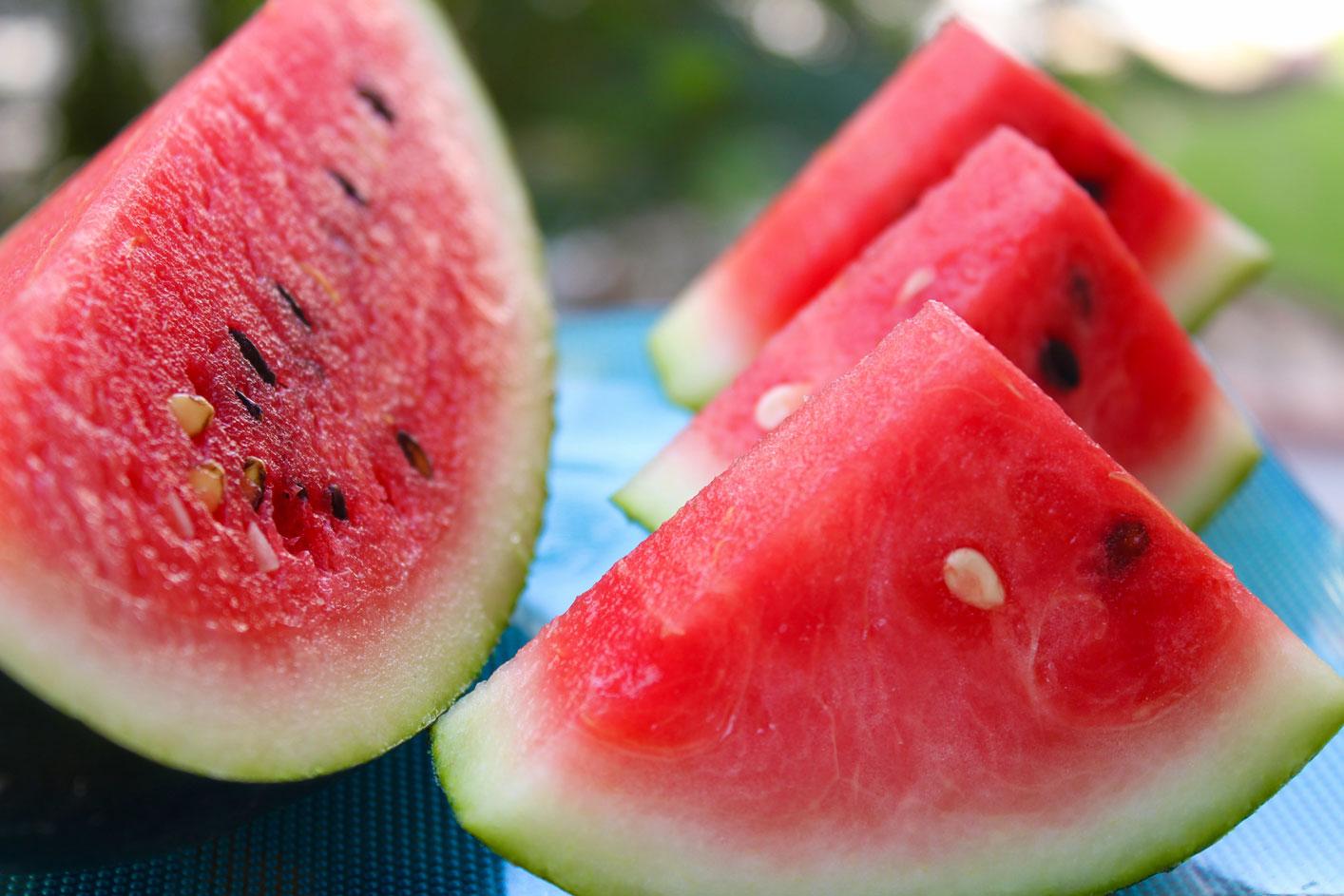 Citrulline, an amino acid found in watermelon