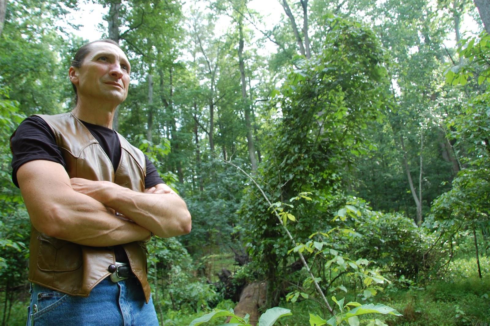 Cherokee Musician Michael Bucher - Photo: Vincent Schilling