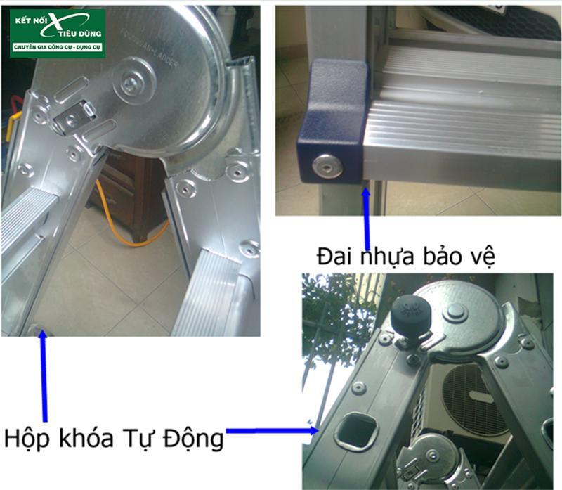 [Review] Thang Nhôm Chữ A Poongsan PS-44: Đáng Đồng Tiền Bát Gạo! - an toàn