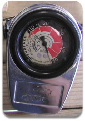 SOS Poseidon 5 Diving Decompression Meter