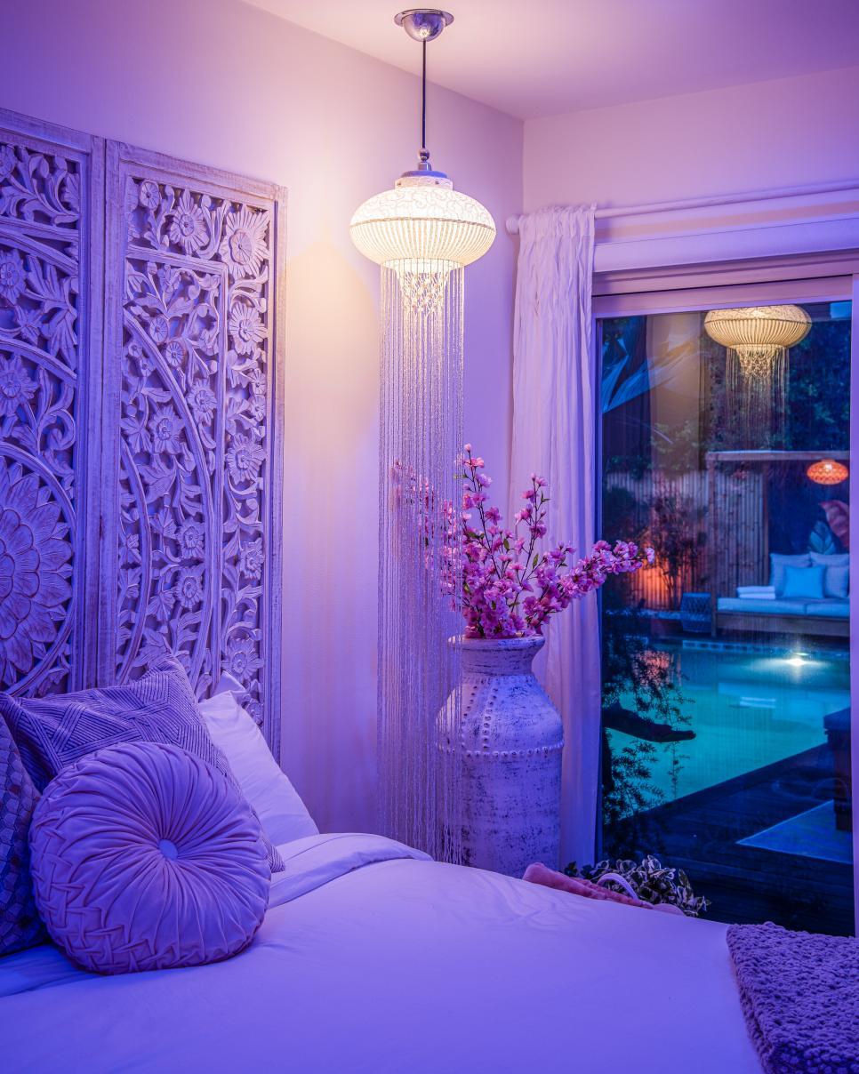 Bedroom Lavender Pendant Light Ideas