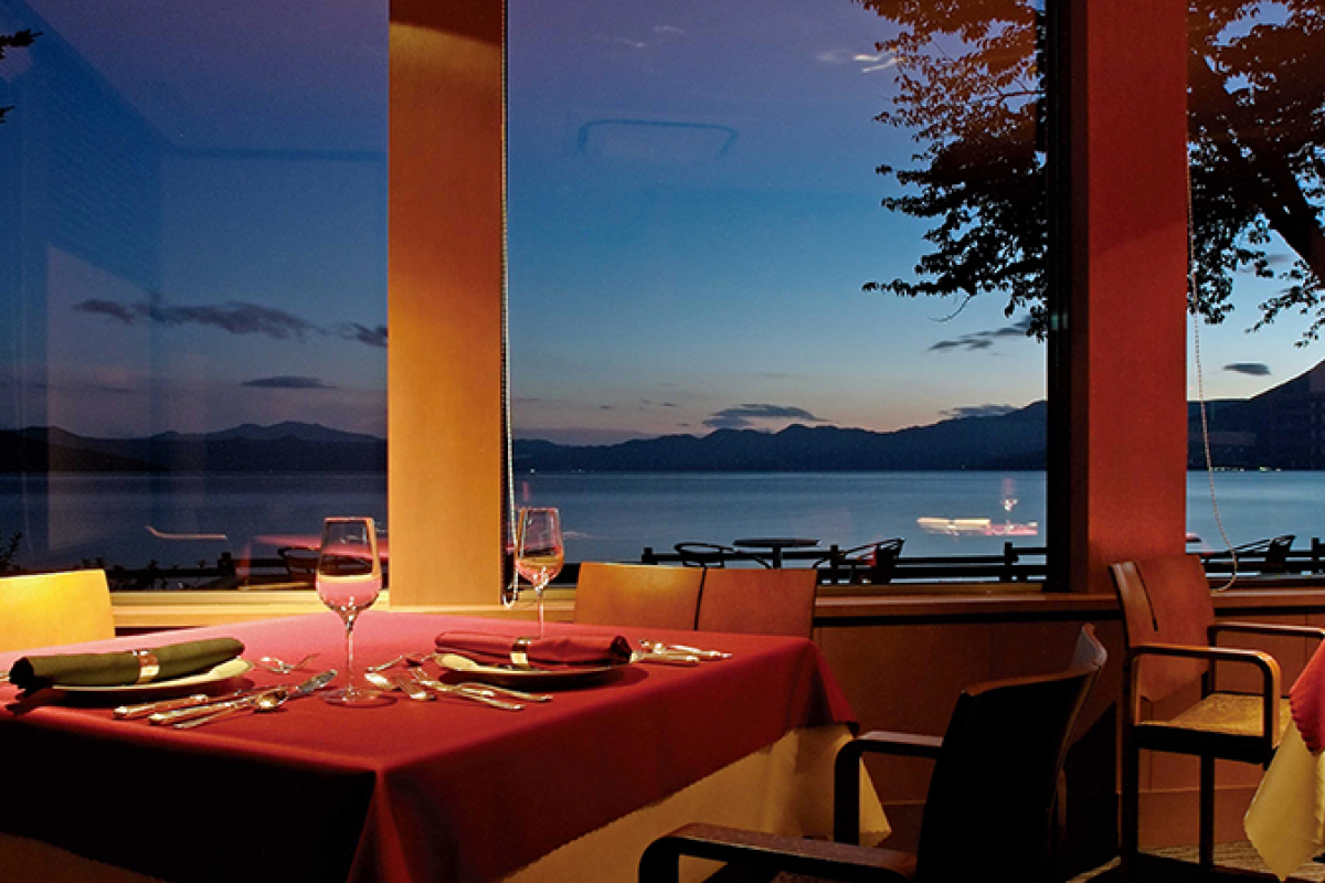 An inn with a spectacular view (Lakeside Villa Suimeikaku)6