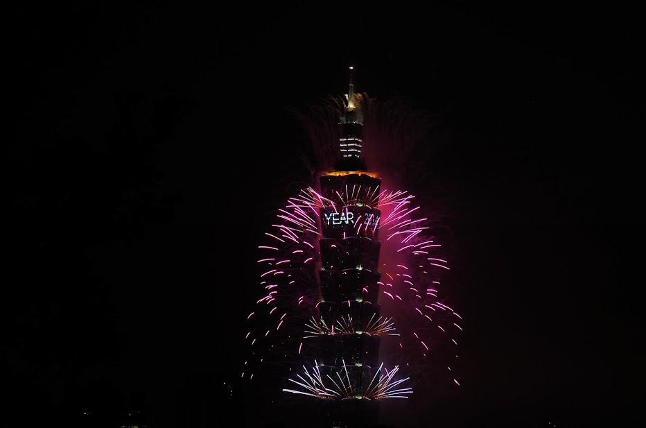 2014 新年煙火喔~~