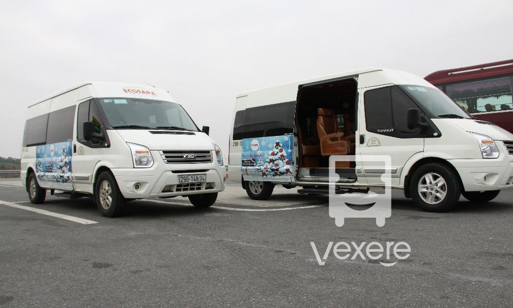 Xe limousine đi Sapa từ Hà Nội: Eco Sapa Limousine