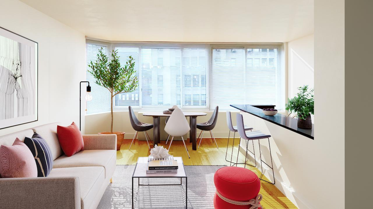 Emerald Green, Midtown West NYC, luxury apartments for rent