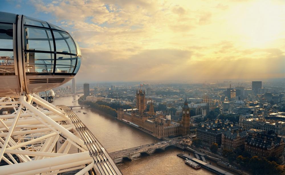 En el famoso London Eye quiere aumentar inmediatamente.