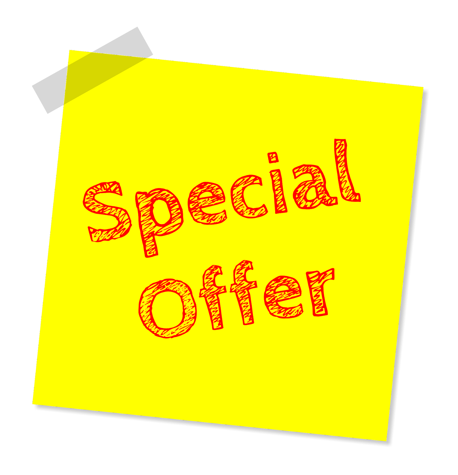 Special Offer in a blog post