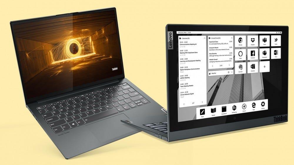 """เลอโนโว เปิดตัว ThinkBook รุ่นใหม่ล่าสุด รับเทรนด์ """"work-from-anywhere"""" 1"""