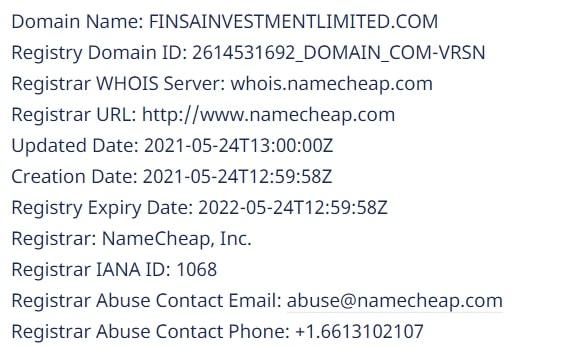 Finsa Investment Limited: отзывы реальных клиентов, особенности сотрудничества обзор