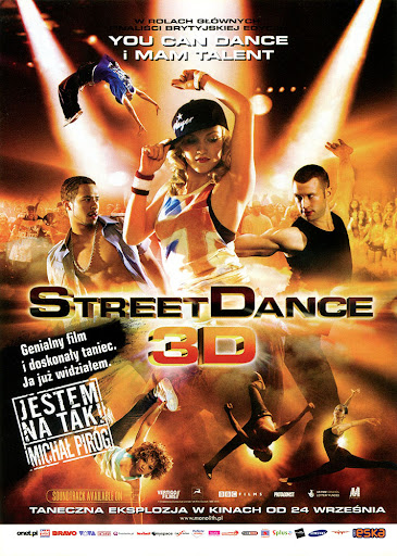 Przód ulotki filmu 'StreetDance'