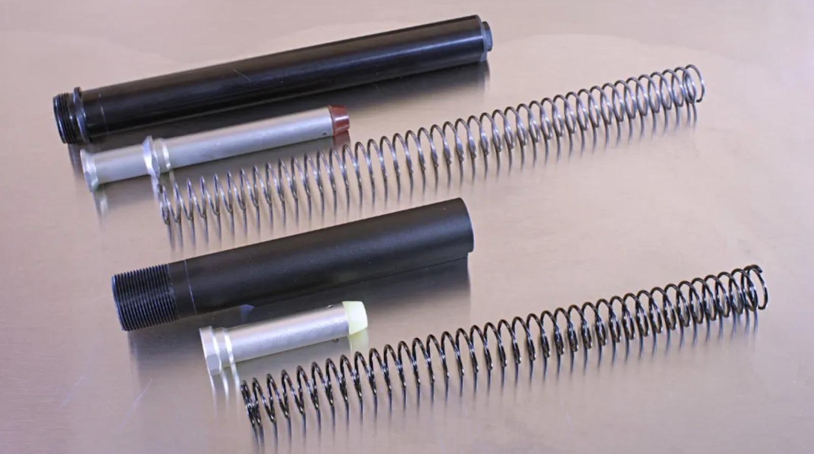 rifle length carbine and spring vs carbine buffer tube and carbine buffer and spring