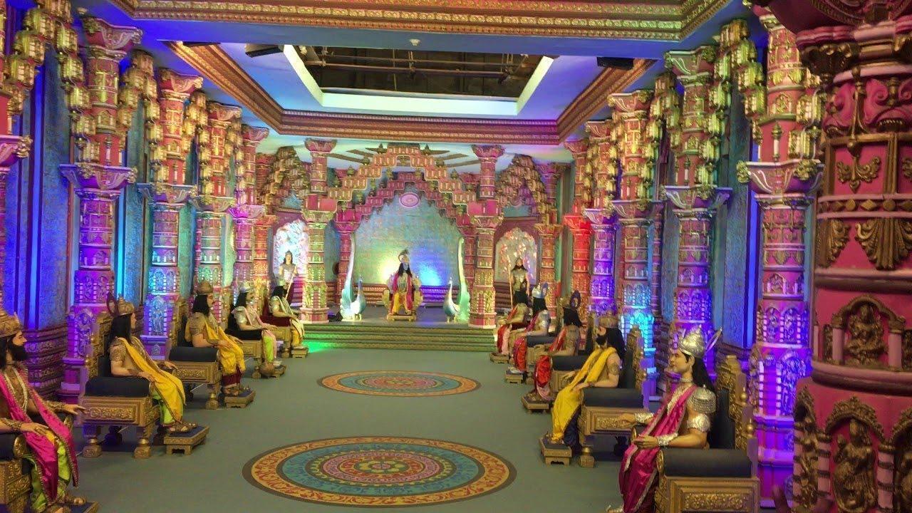 Image result for ramoji film city mahabharata set