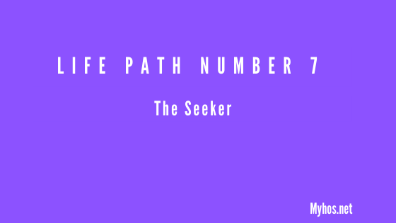 life path number 7 meaning