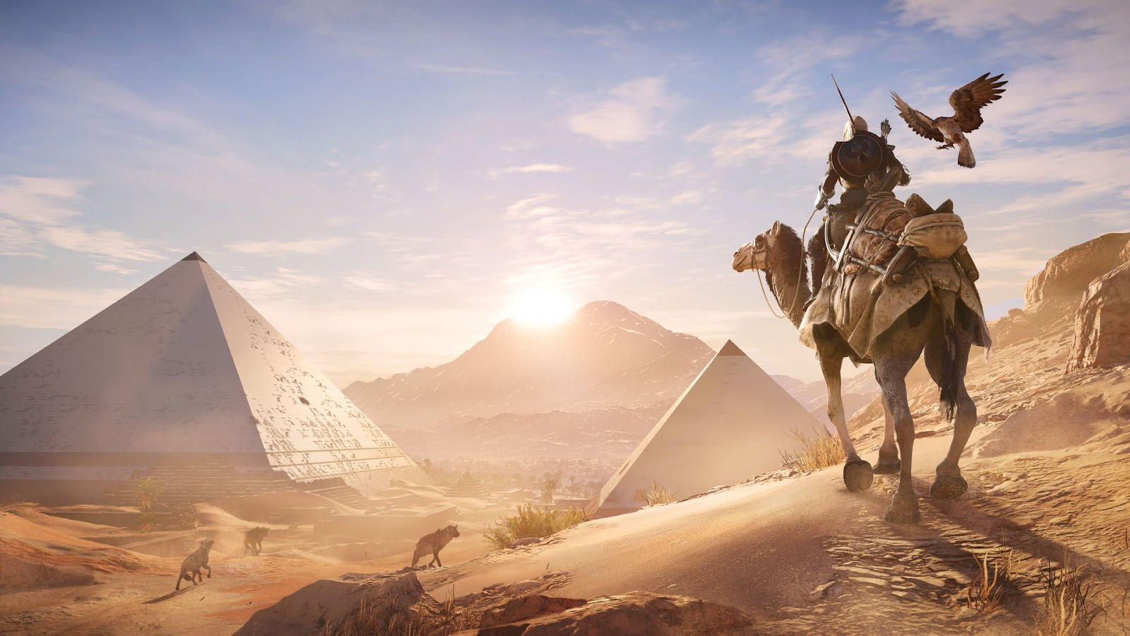 Assassins creed origins and monster hunter world impress at egx assassins creed origins gameplay impressions malvernweather Images