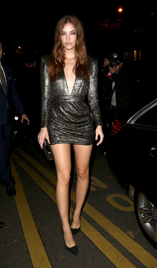 Barbara Palvin's Sexy dress outfit
