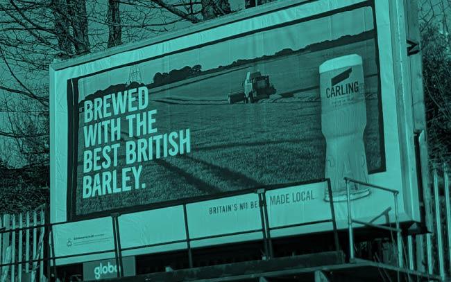 Carling Billboard