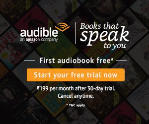 ऑडिबल एक ऑनलाइन ऑडियो-बुक है जिसे अमज़ोन ने चालू किया है।आप सभी तो तो जानते है कि Amazon एक बोहोत बड़ी और अच्छी company है।