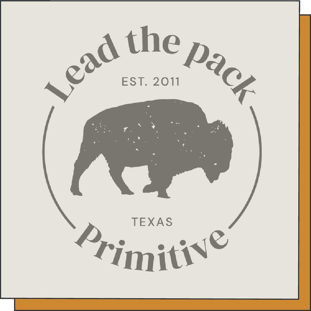 Primitive Bison badge