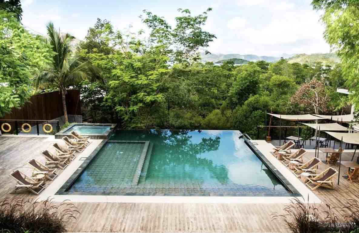 where to stay in coron beach 91